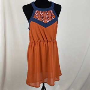 Young Thread Aztec Look Dress size Large